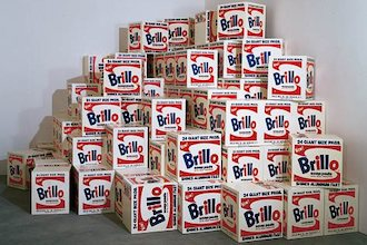 Brillo Box (1964) by Andy Warhol The Mantle