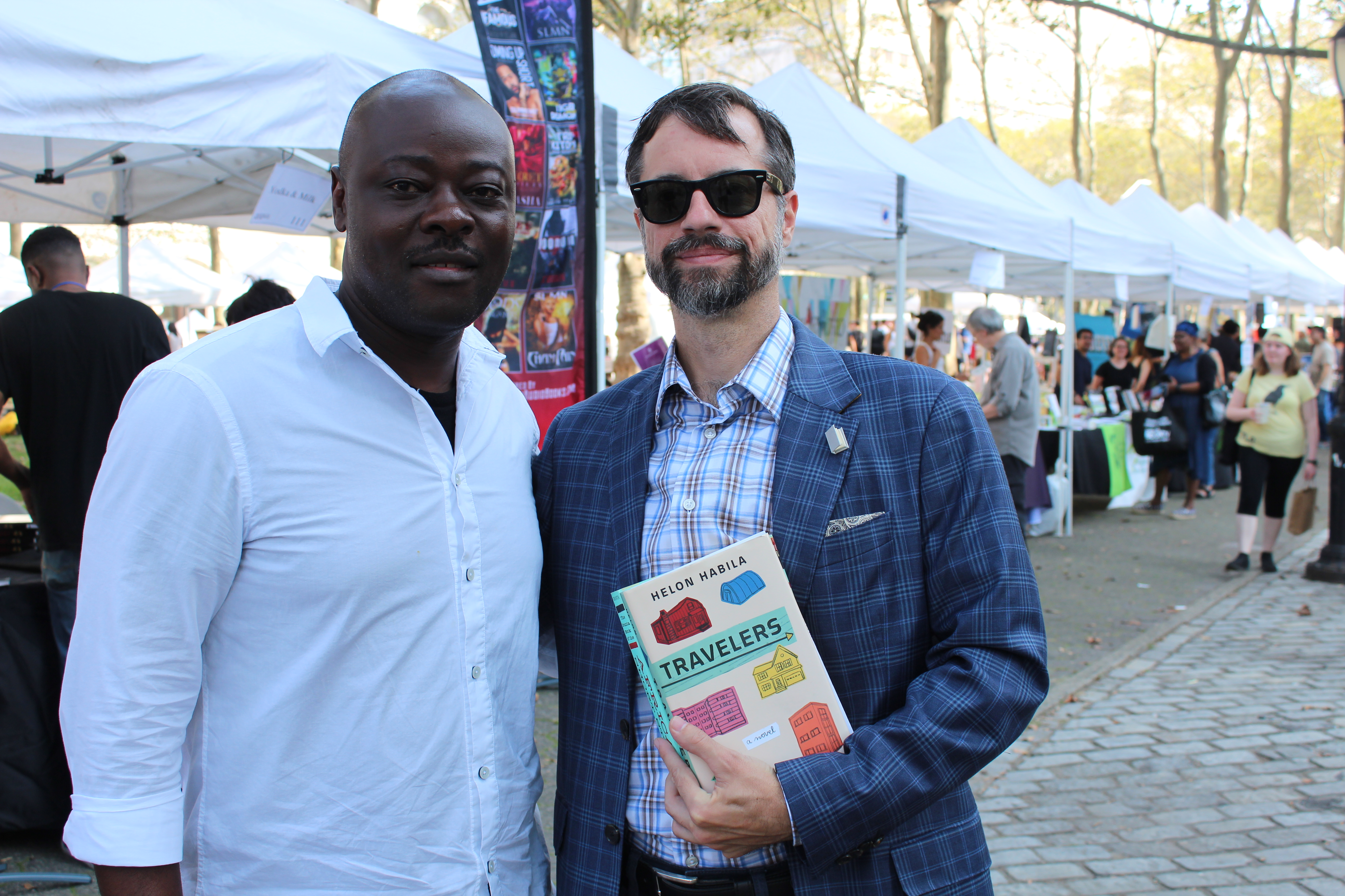 Helon Habila and Shaun Randol