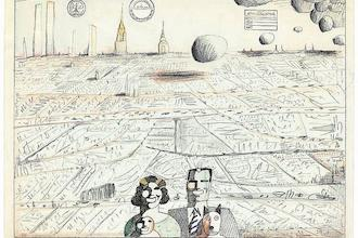 The Mantle Image Saul Steinberg Utopia