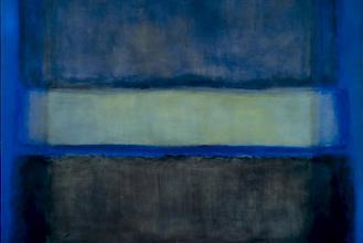 Mark Rothko abstract blue