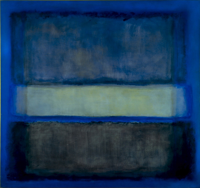 Mark Rothko's Blurred Boundaries