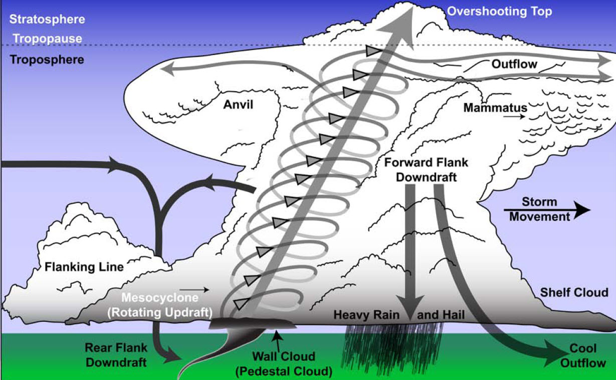 the main features of tornadoes The main problem with deploying  which includes tornadoes tornado records even in  dows have measured fine-scale details of tornado features,.