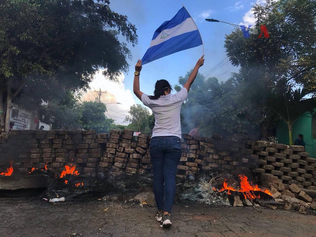 The Mantle Image Nicaragua protest