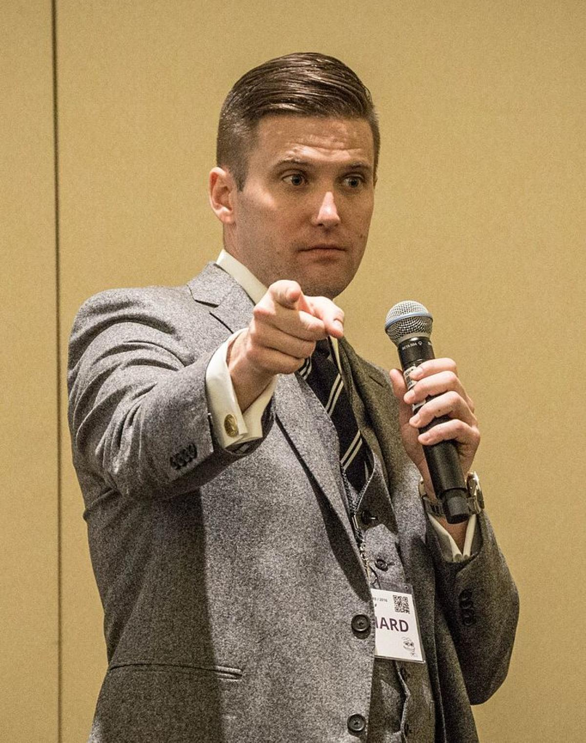 Richard Spencer neo-Nazi and white supremacist Identitarian The Mantle