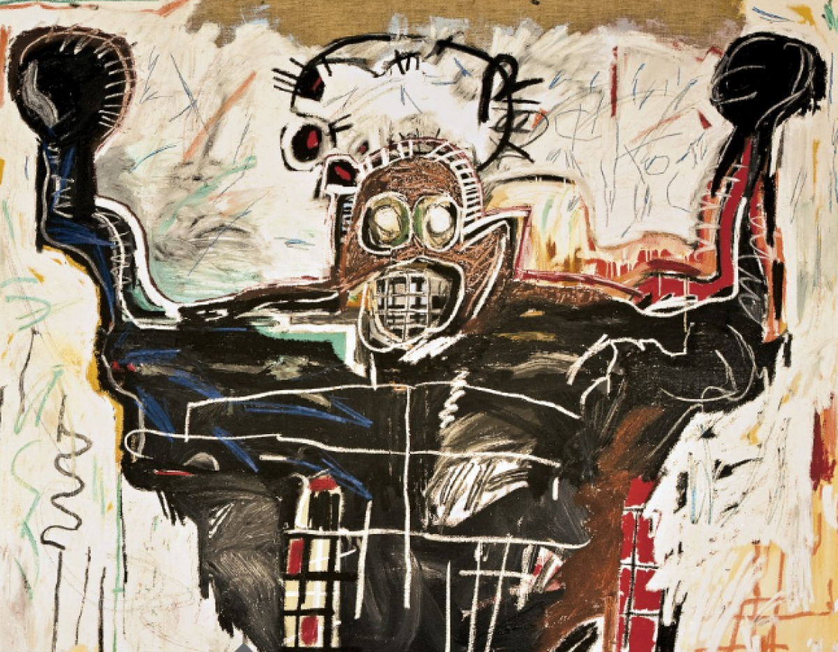 Untitled (The Boxer) by Jean-Michel Basquiat The Mantle