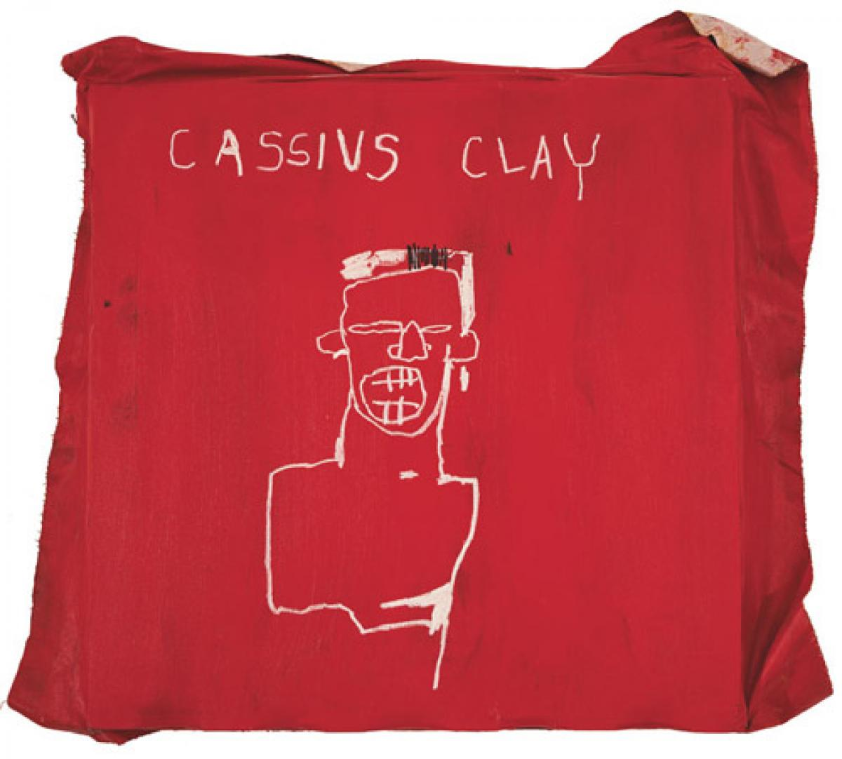 Cassius Clay by Jean-Michel Basquiat The Mantle