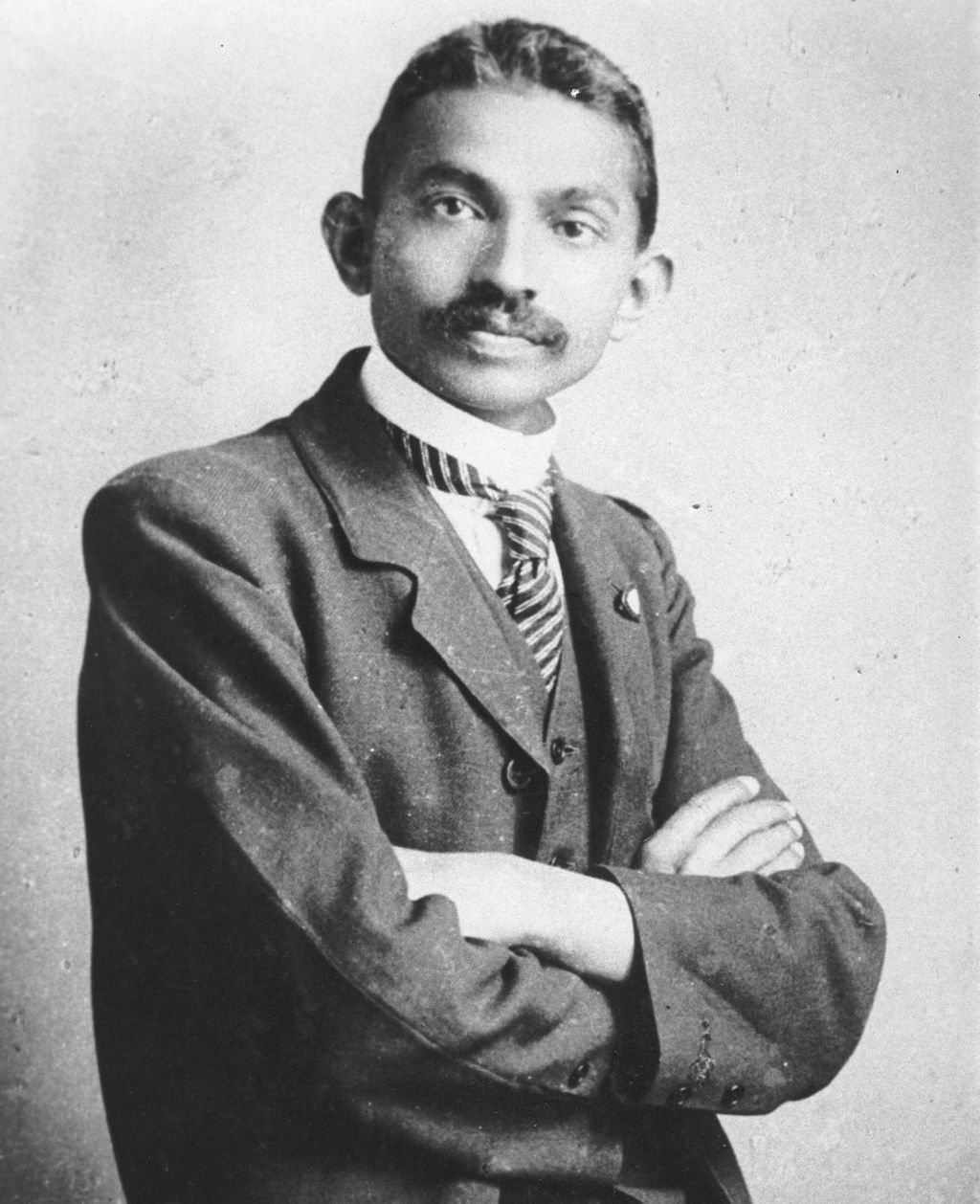 The Mantle Image Mahatma Gandhi South Africa Lawyer