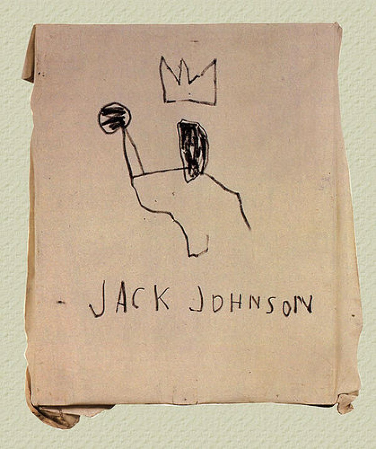 Jack Johnson by Jean-Michel Basquiat The Mantle