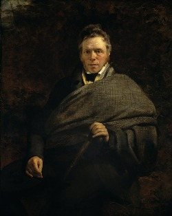 Portrait of the author James Hogg