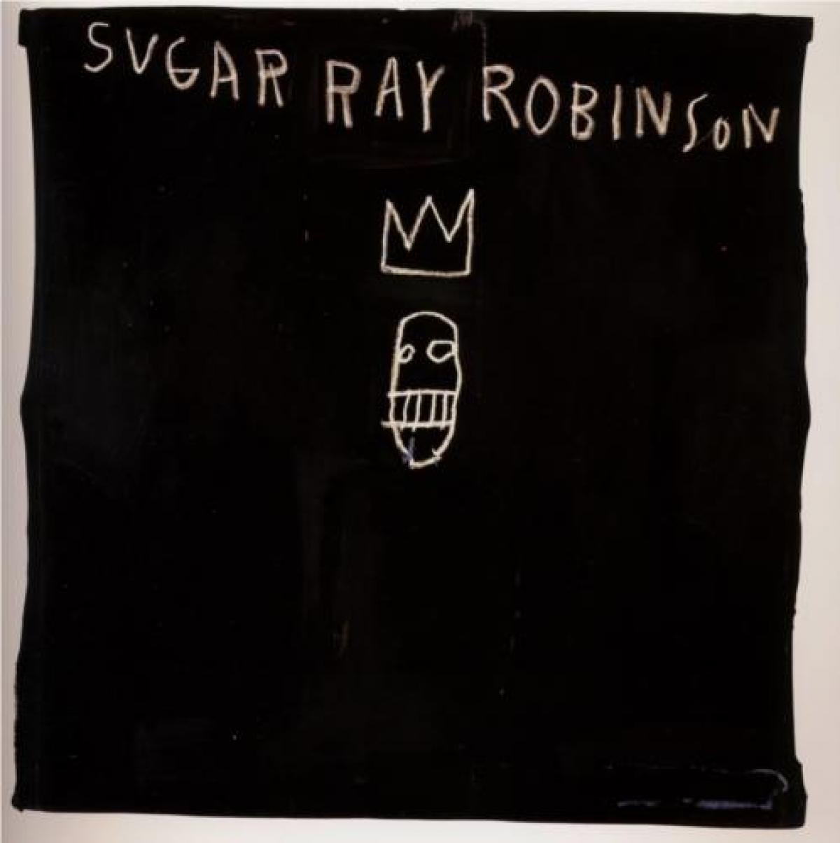 Sugar Ray Robinson by Jean-Michel Basquiat The Mantle