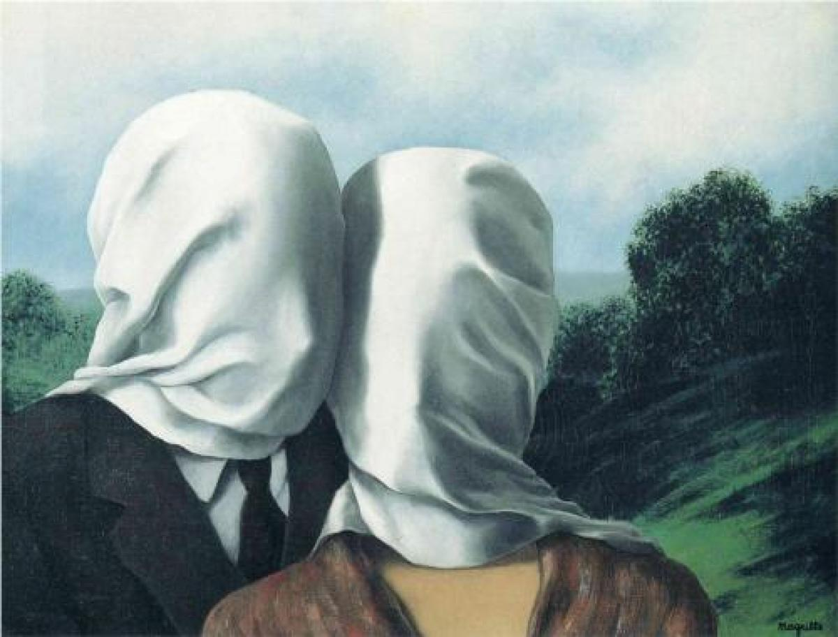 The Lovers (1928); Magritte; oil on canvas (MoMA) The Mantle