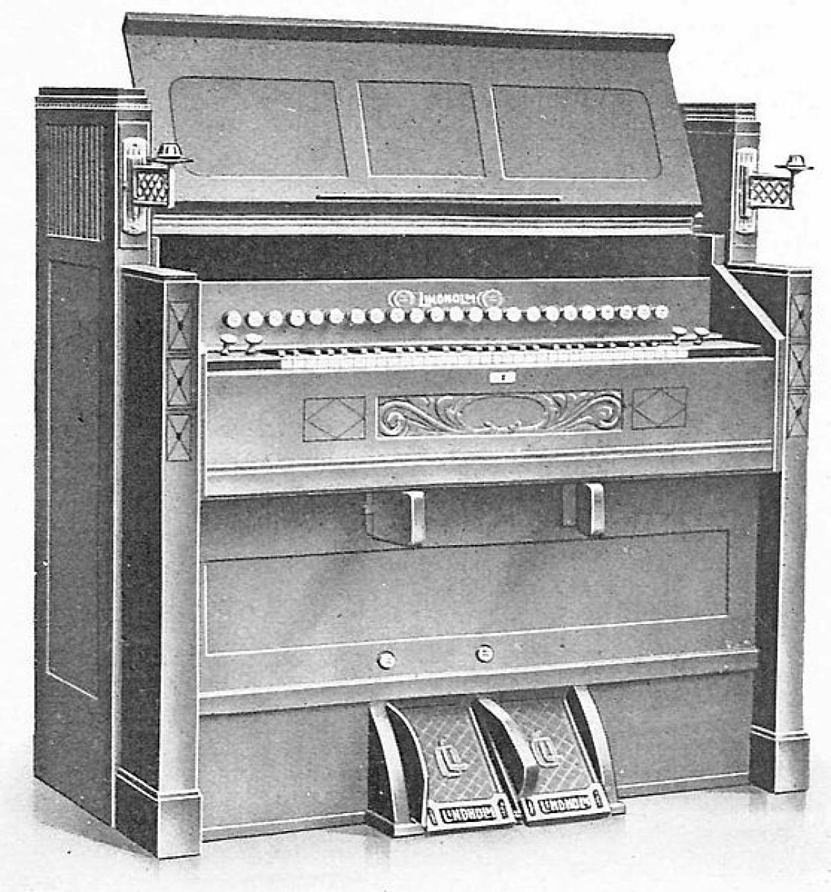 The Harmonium instrument The Mantle