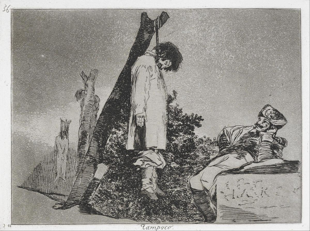 The Mantle Image Goya