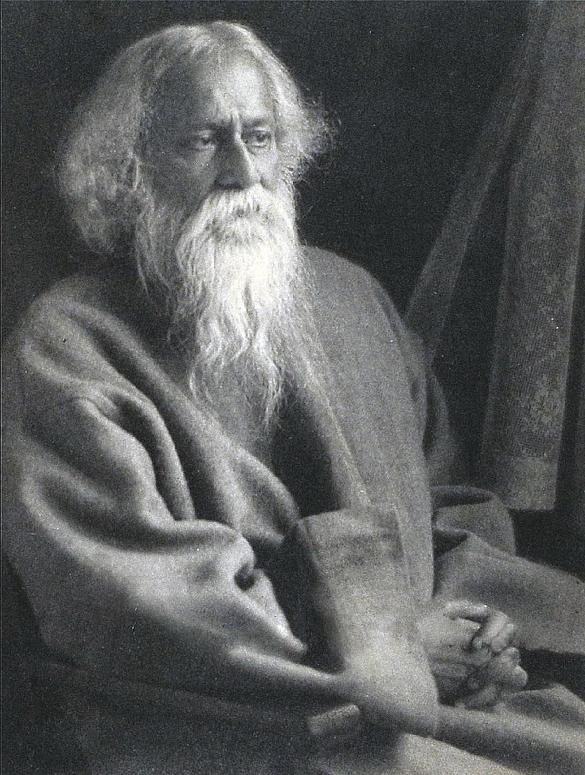The Mantle Image Rabindranath Tagore