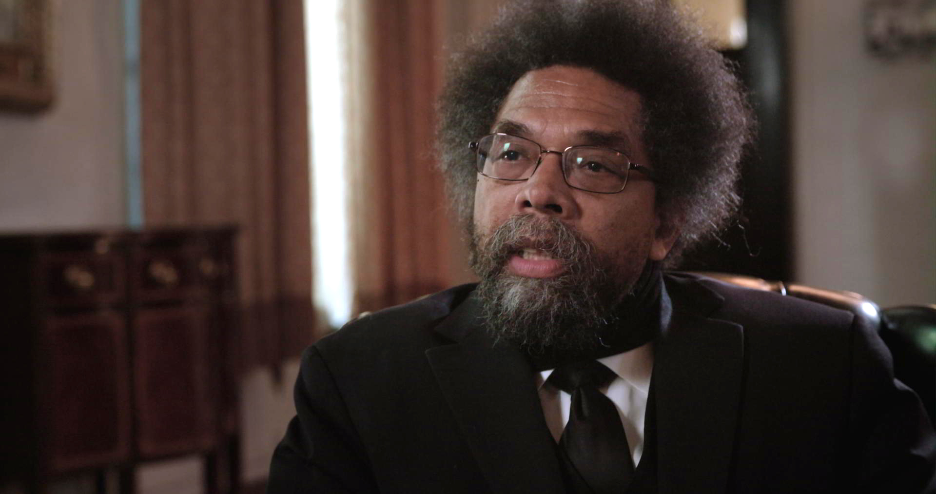 The Mantle Image Cornel West