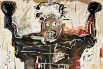 Boxer painting by Jean-Michel Basquiat The Mantle