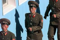 North Korea Soldiers The Mantle image