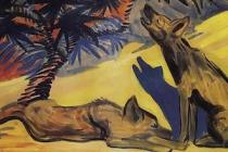 The Mantle Image Hyenas Martiros Sarian